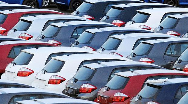 Car ales have jumped by 13% in the second quarter of the year