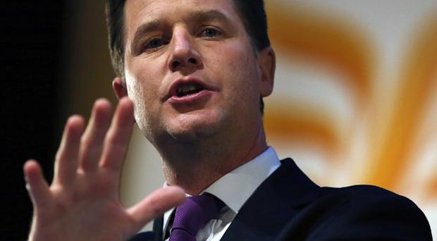 Deputy Prime Minister Nick Clegg has backed a campaign for more openness in dealing with the gender pay gap