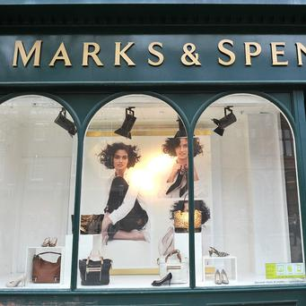 Marks and Spencer suffered more share losses as concerns grow that its clothing relaunch is not reviving the chain with the retail giant down around 3%