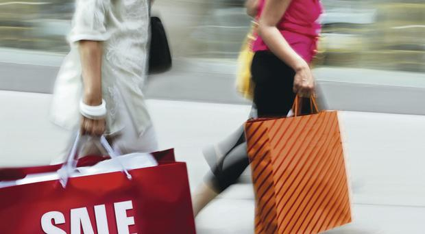 In demand: The retail sector is leading the way for business growth