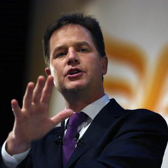 Nick Clegg says green energy levies remain necessary