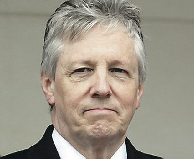 First minister: Peter Robinson