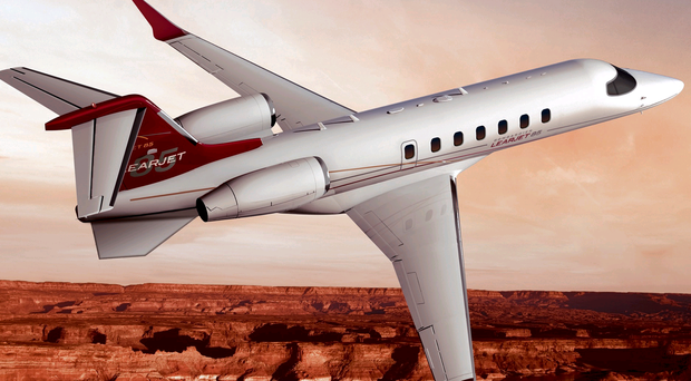 Take-off: dozens of workers in east Belfast are developing the wings of the new Learjet 85