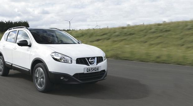 The Nissan Qashqai was October's best seller