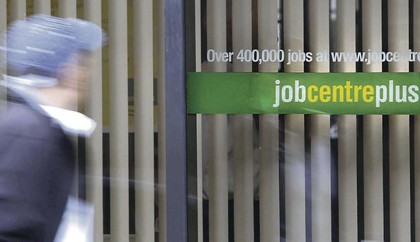 Improvement: Figures show a drop in unemployment in Northern Ireland, but job market recovery remains slow