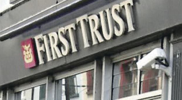 First Trust Bank in Ballymoney were Muriel Stewart worked