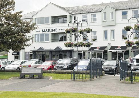 Ballycastle's Marine Hotel as it is today