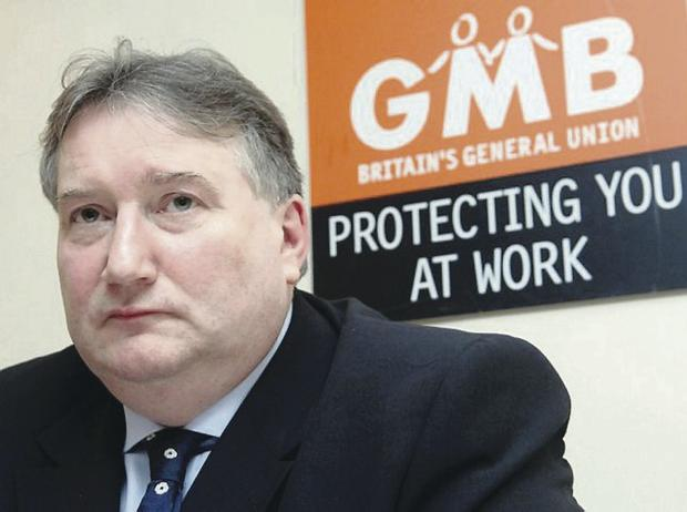 Worrying times: Paul Kenny says workers need a rise