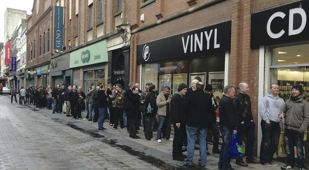 The Head Records store which is moving to CastleCourt this year