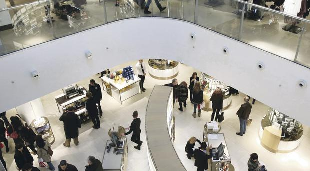 Shoppers have made it a bumper Christmas for House of Fraser