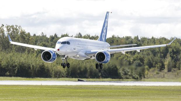 Air we go: The Al Qahtani Aviation Company could order up to 26 Bombardier CSeries planes