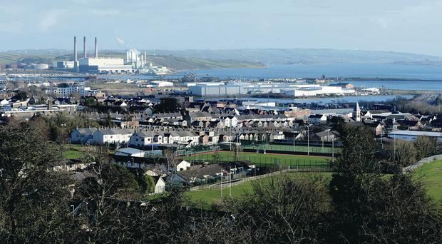 BP have pulled out of the gas project at Larne Lough