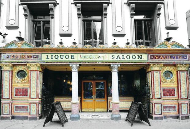 Changing face: The Crown Liquor Saloon
