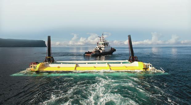 Northern Ireland firms, including Harland and Wolff and McLaughlin & Harvey, have become leading experts in offshore renewable energy