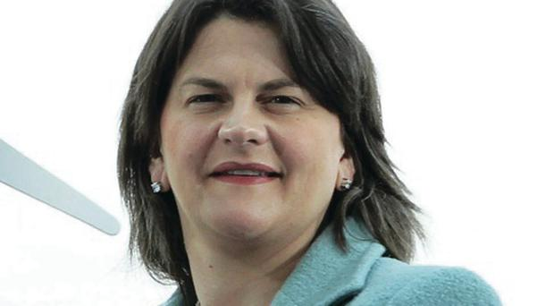 Enterprise Minister Arlene Foster said Sandvik had given staff in Ballygawley a