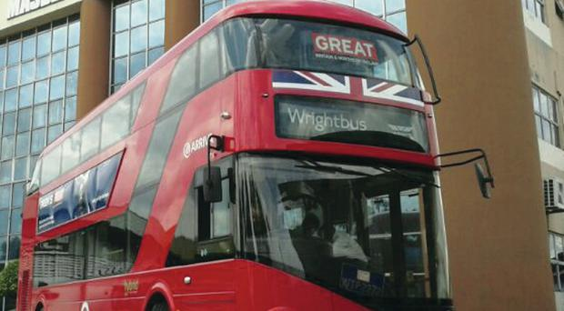 Wrightbus has announced a £30m contract for its 'flatpack' buses in Singapore