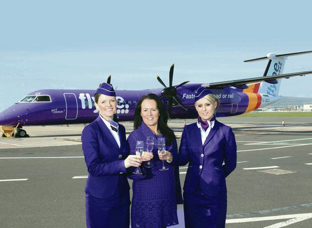Flybe's new route will take customers into the heart of London