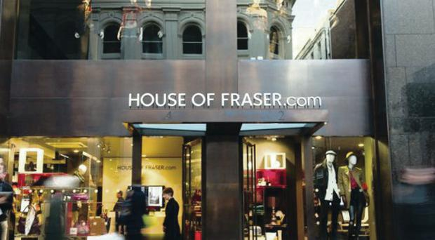 House of Fraser is expanding into Russia