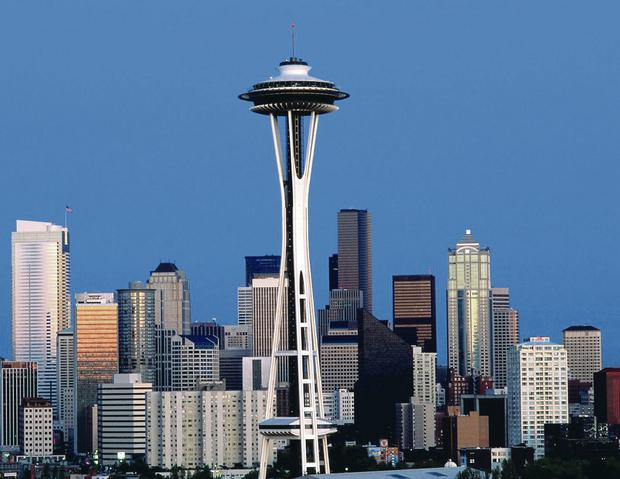 Seattle's famous Space Needle