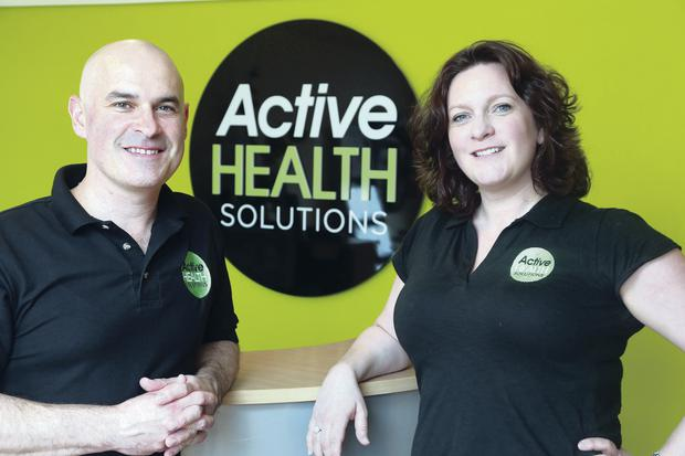 Rachel and David Saligari from Active Health Solutions
