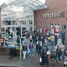 Foyleside Shopping Centre in Derry
