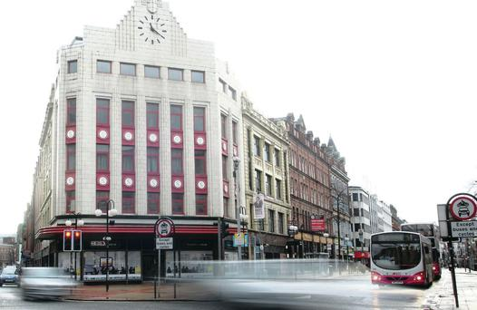 The retail core of Belfast city centre is currently experiencing a resurgence