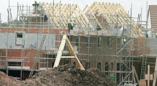 Breaking records: the construction industry in Northern Ireland saw its fastest rate of growth since the survey began