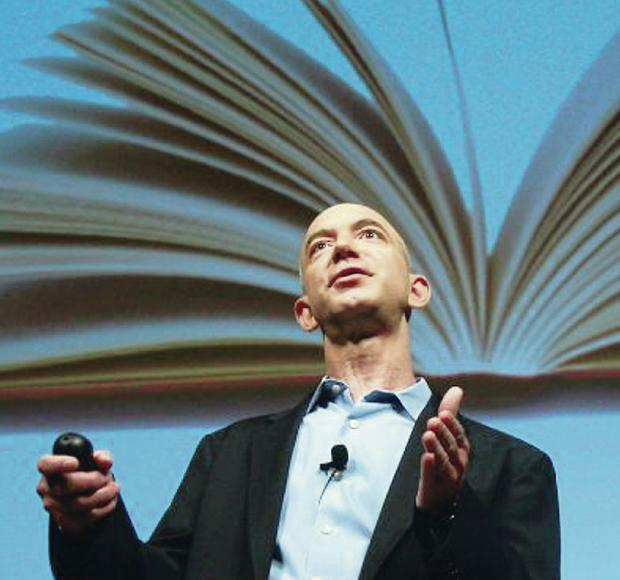 Online empire: Amazon proprietor Jeff Bezos