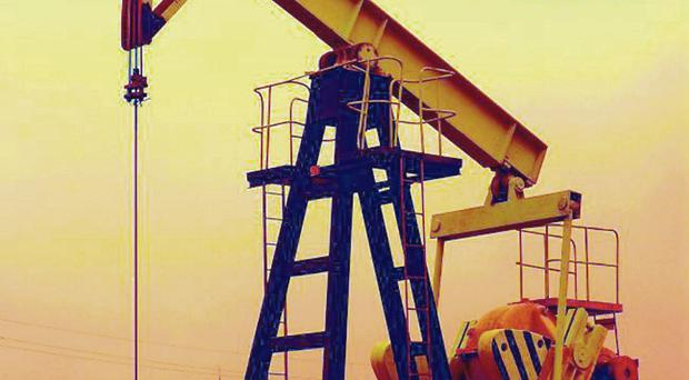 Oil prices are currently at a five-year low of around $65 per barrel — compared to $115 in June