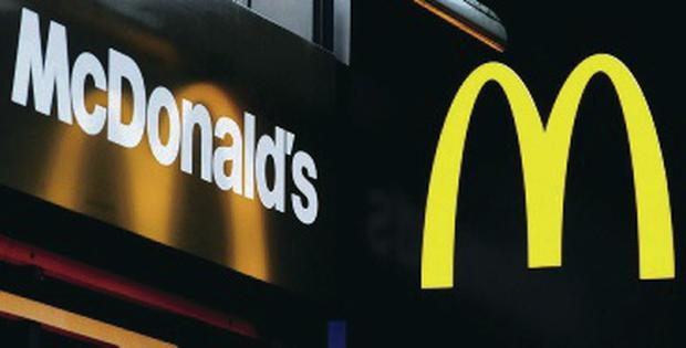 McDonald's use of fluoroquinolones and marcolides over the next three years