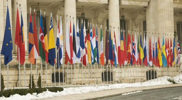 The flags of Europe could one day lose the Union flag