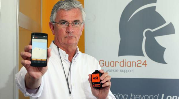 G24 provides a personal emergency response service to vulnerable, isolated workers, with the system logging worker's whereabouts, recording details of their location and expected duration