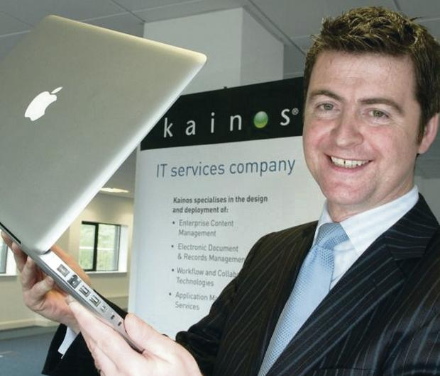 Firm pledge: Brendan Mooney, managing director of IT company Kainos