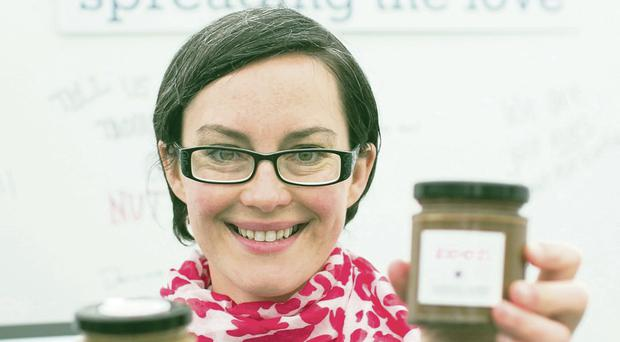 Aimee Beimers and her Keen Nut Butter which uses a variety of nuts