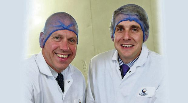 Investment: John Hood of Invest NI and Daniel Whittle of Kilkeel Seafoods