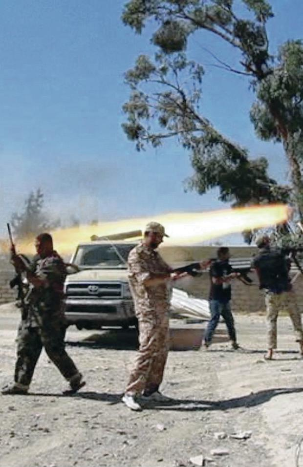 Civil war in Libya has been deepening