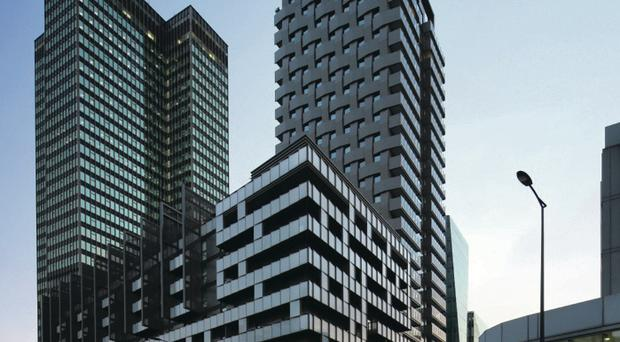 Some of the high profile projects McMullen Facades has completed in recent times
