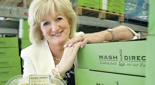 Tracy Hamilton, director of prepared vegetable specialist Mash Direct