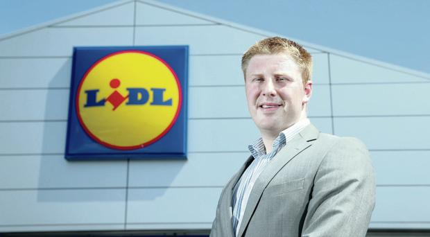Paul Gibson, Lidl sales operations executive