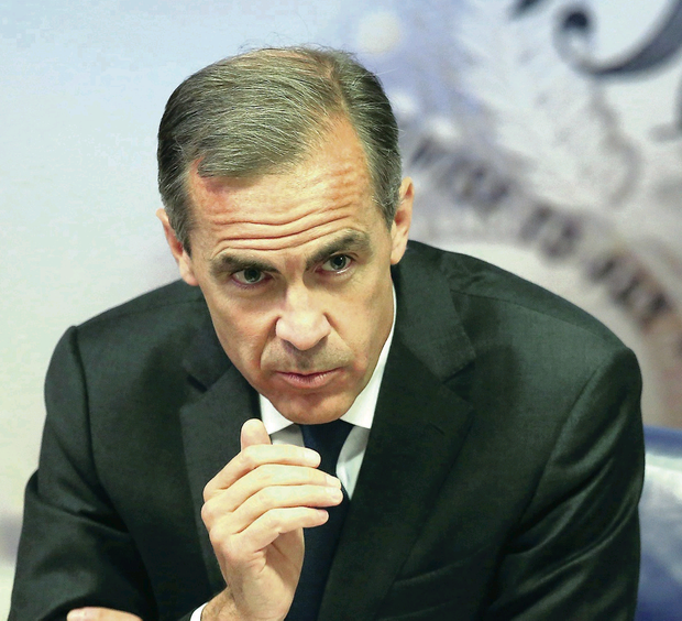 Bank of England's Governor Mark Carney