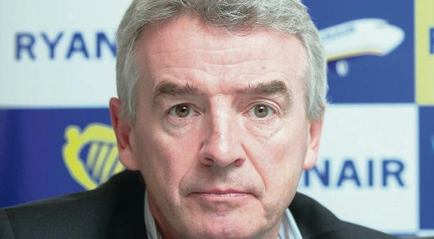 Bumper year: Ryanair boss Michael O'Leary has overhauled the company's image and increased profits and passengers