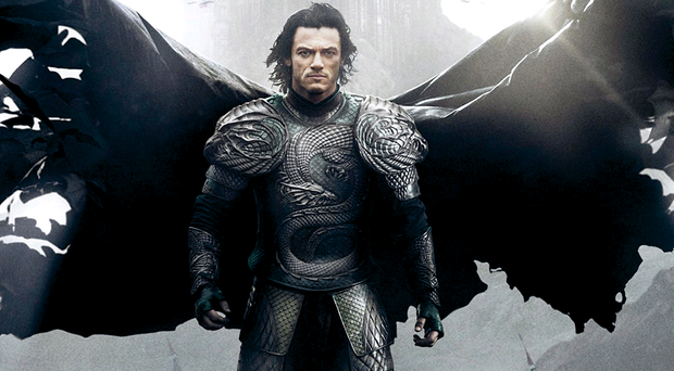 Fangtastic: Luke Evans in Dracula Untold which was shot in Belfast Glass act