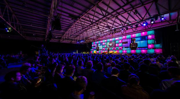 Scenes from last year's Web Summit