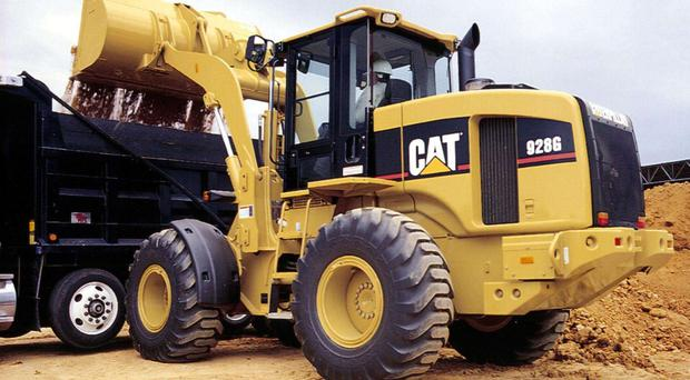 Caterpillar has a disctinctive presence and its own special colour