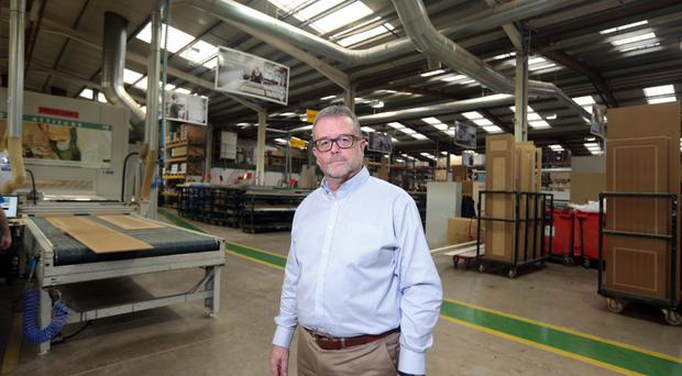 Fitting milestone: David Caufield, sales and marketing manager, of BA Components