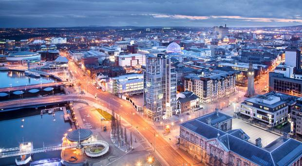 Tourism and shopping in Belfast have improved in Belfast