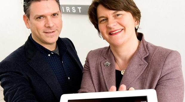 Expansion: Shop Keep POS founder Jason Richelson and Arlene Foster
