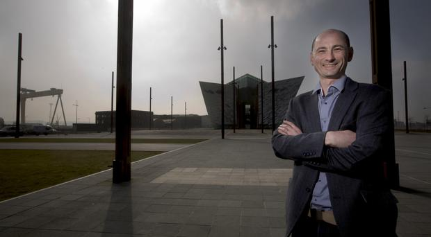 Ian Scott of Taggled, based at Northern Ireland Science Park in the Titanic Quarter