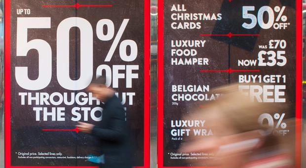 Black Friday saw shops enjoy their best November in five years