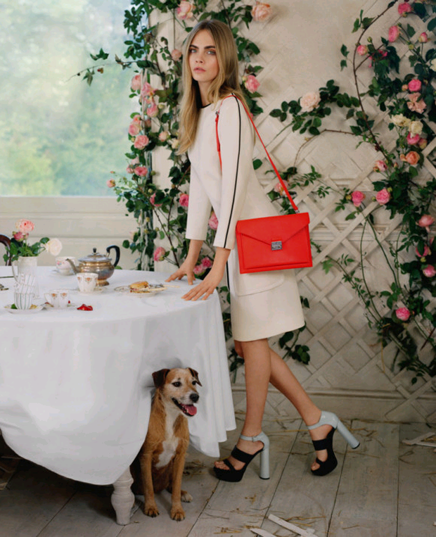 Mulberry's Cara Delevingne bags were designed in conjunction with the supermodel